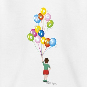 Baby birthday balloons - Teenage T-shirt