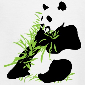 Bamboe Panda - Teenager T-shirt