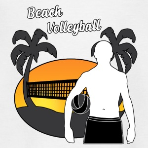beach volley - Teenager T-shirt