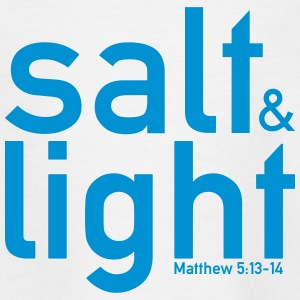 Salt & Light - Mattheüs 5: 13-14 - Teenager T-shirt