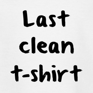 Last Clan-T-Shirt - Teenager T-Shirt