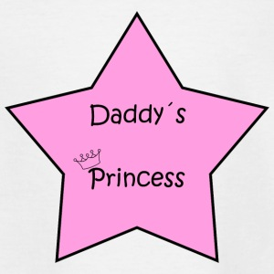 Daddy's Princess Star - Teenager T-shirt