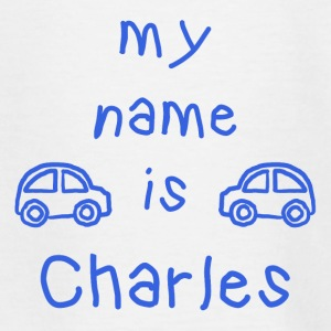 CHARLES MY NAME IS - Teenage T-shirt