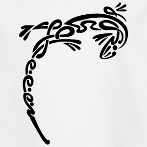 Cool tribal lizard - Teenage T-shirt