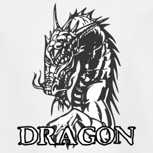 agry mirando White Dragon - Camiseta adolescente