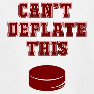 Eishockey: Can´t Deflate This - Teenager T-Shirt