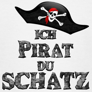Ich Pirat Du Schatz - - Teenager T-Shirt