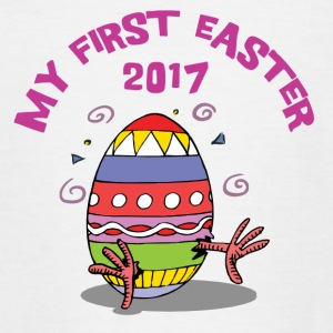 Easter My First Easter 2017 - Teenage T-shirt