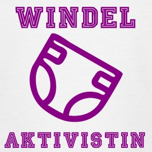 Windel Aktivistin - Teenager T-Shirt