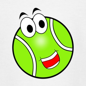 Happy Tennis Ball - Teenage T-shirt