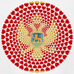 MONTENEGRO LOVE HEART MANDALA - Teenage T-shirt
