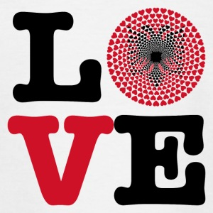 Albania Albania Love heart mandala - Teenage T-shirt