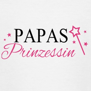 Papas Prinzessin - Teenager T-Shirt