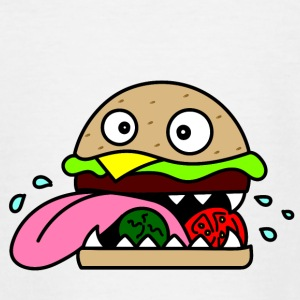 Crazy Burger - Teenager T-shirt