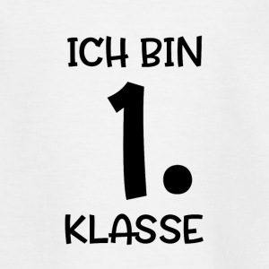 Ich bin 1. Klasse - Teenager T-Shirt