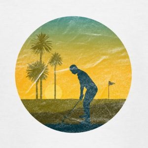 golfer - Teenage T-shirt