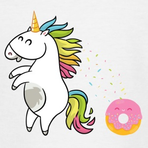 Unicorn Donut - Teenager-T-shirt