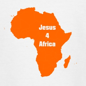 jesus for Africa - Teenage T-shirt