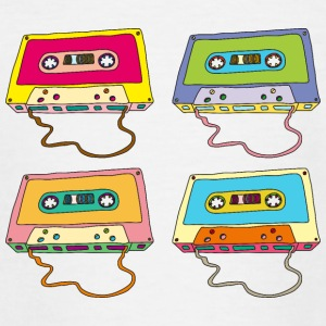 Music cassette compact cassette magnetic tape Retro - Teenage T-shirt