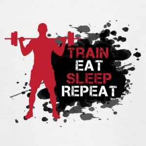 Train - Eat - Sleep - Repeat - Teenager T-Shirt