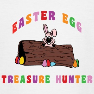 Easter Egg Treasure Hunter - Teenage T-shirt