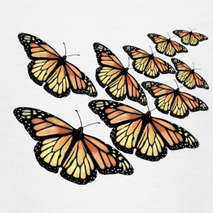 Monarch Butterfly - Swarm - Teenager T-shirt