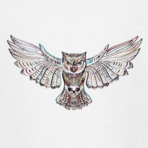 Flying owl - Teenage T-shirt