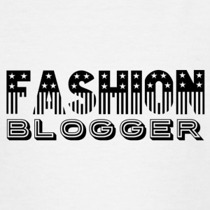 Fashion Blogger - T-skjorte for tenåringer