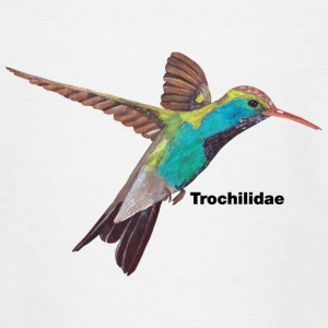 Hummingbird - Trochilidae - Teenage T-shirt