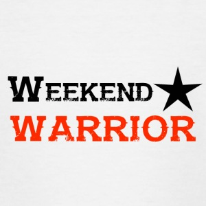 Shirt Weekend Warrior Wochenende Party - Teenager T-Shirt