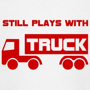 Mechanic: Still plays with Truck. - Teenage T-shirt