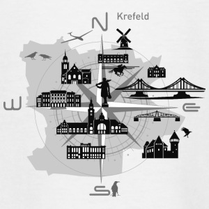 Krefeld compass, Krefeld - Teenage T-shirt