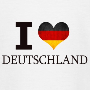I LOVE GERMANY - Teenage T-shirt