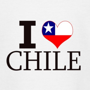 I LOVE CHILE - Teenager T-Shirt