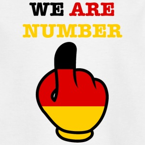Germany Germany WE ARE NUMBER 1 - Teenage T-shirt