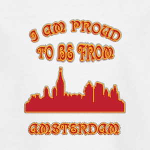aMSTERDAM I am proud to be from - Teenage T-shirt