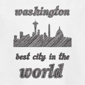 Washington Beste Stadt in der Welt - Teenager T-Shirt