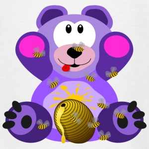 Sød Honey Bear - Teenager-T-shirt