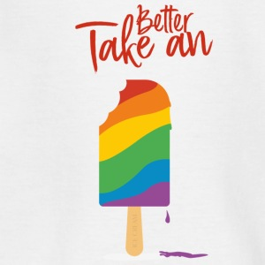Better Take A Ice Cream - Teenager T-Shirt