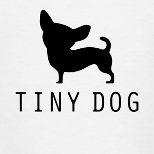 Tiny Dog - Teenager T-shirt
