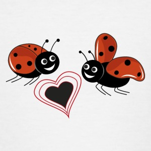 ladybugs - Teenage T-shirt