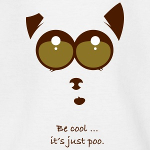 Be cool and poo - Teenage T-shirt