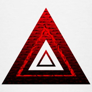 Red Ruby Rose Pyramide - Teenager T-Shirt