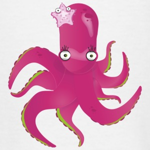 Cute octopus - Teenage T-shirt