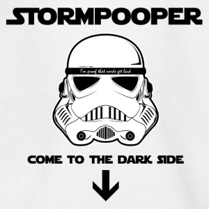 STORMPOOPER - Stormtrooper - Teenage T-shirt