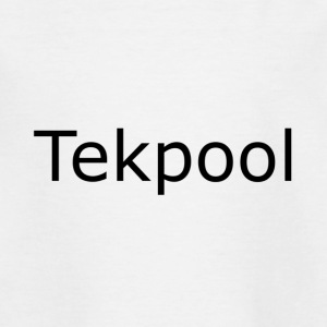 Tekpool - Teenage T-shirt