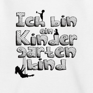 Ich bin ein Kindergartenkind - Teenager T-Shirt