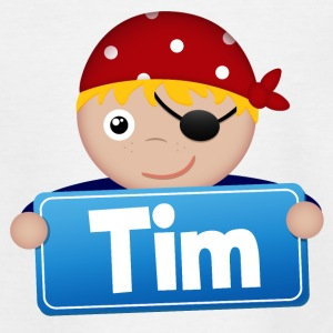 Petit Pirate Tim - T-shirt Ado