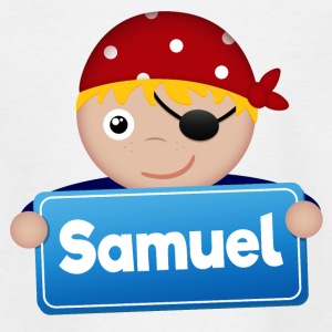 Little pirate Samuel - Teenage T-shirt