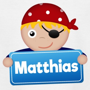 Petit Pirate Matthias - T-shirt Ado